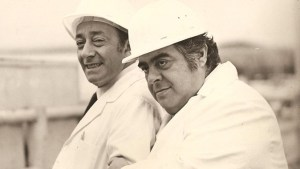 Alberto Olmedo y Jorge Porcel