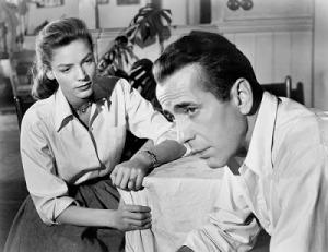 Bogart y Lauren Bacall en Cayo Largo