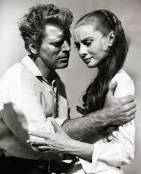 Burt Lancaster y Audrey Hepburn en