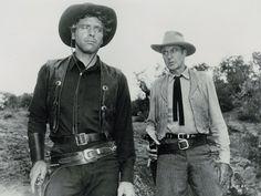 Burt Lancaster y Gary Cooper en
