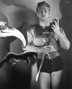 Buster Crabbe como Flash Gordon en