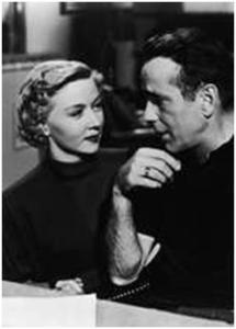 Gloria Grahame y Humphrey Bogart en