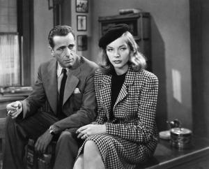 Humphrey Bogart y Lauren Bacall en