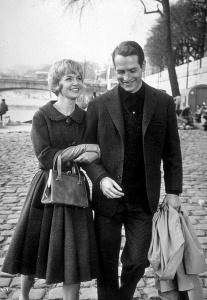 Joanne Woodward y Paul Newman en