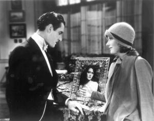 John Gilbert y Greta Garbo en