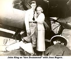 John King con Jean Rogers en el serial