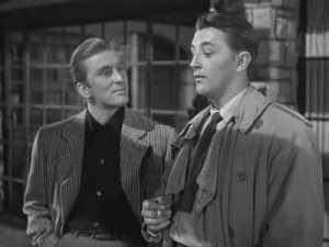 Kirk Douglas y Robert Mitchum en