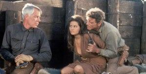 Lee Marvin con Claudia Cardinale y Burt Lancaster en