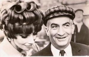Louis de Funes con Andrea Parisi en