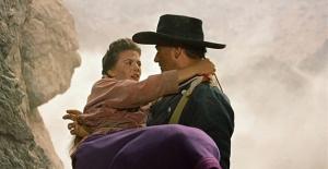 Natalie Wood con John Wayne en