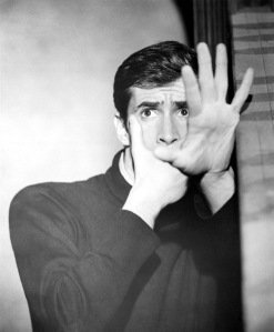 Anthony Perkins en el papel de Norman Bates en