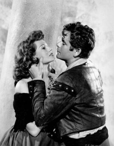 Rita Hayworth y Glenn Ford en