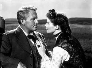 Spencer Tracy y Katharine Hepburn en
