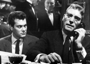 Tony Curtis y Burt Lancaster en