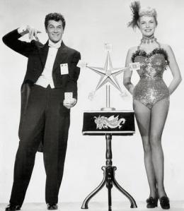 Tony Curtis y Janet Leigh en