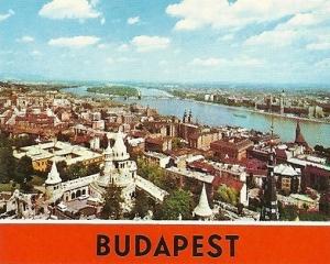 Una vista diurna de Budapest