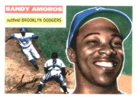 Edmundo Amorós, uno de los héroes de la serie mundial de 1955