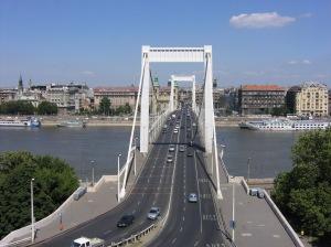 Puente Erzsébet (Isabel) en Budapest