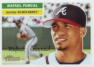 El dominicano Rafael Furcal, novato del año en la Liga Nacional (2000)