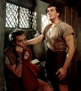 Richard Burton y Victor Mature en