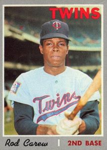 Rod Carew, primer panameño novato del año, Liga Americana (1967)