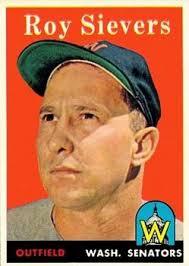 Roy Sievers, primer novato (1949) en la Liga Americana