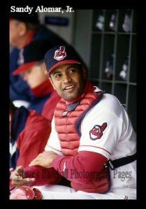 El boricua Sandy Alomar, novato del año en la Liga Americana (1990)