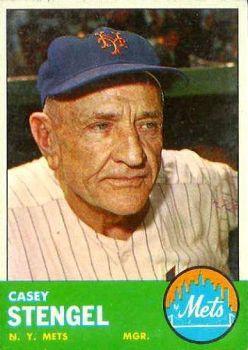 Casey como manager de los Mets