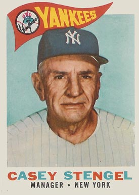 Casey Stengel NY Yankees manager