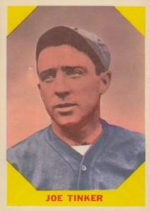Joe Tinker, primer pelotero en la MLB en robar home dos veces en un juego