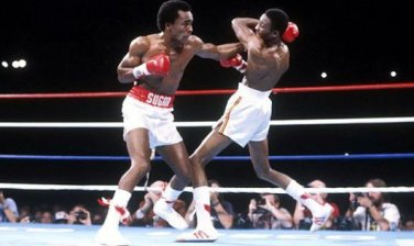 Leonard vs Hearns en su primera pelea