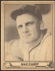 Max Carey, robó 33 veces el home, líder de todos los tiempos en la Liga Nacional