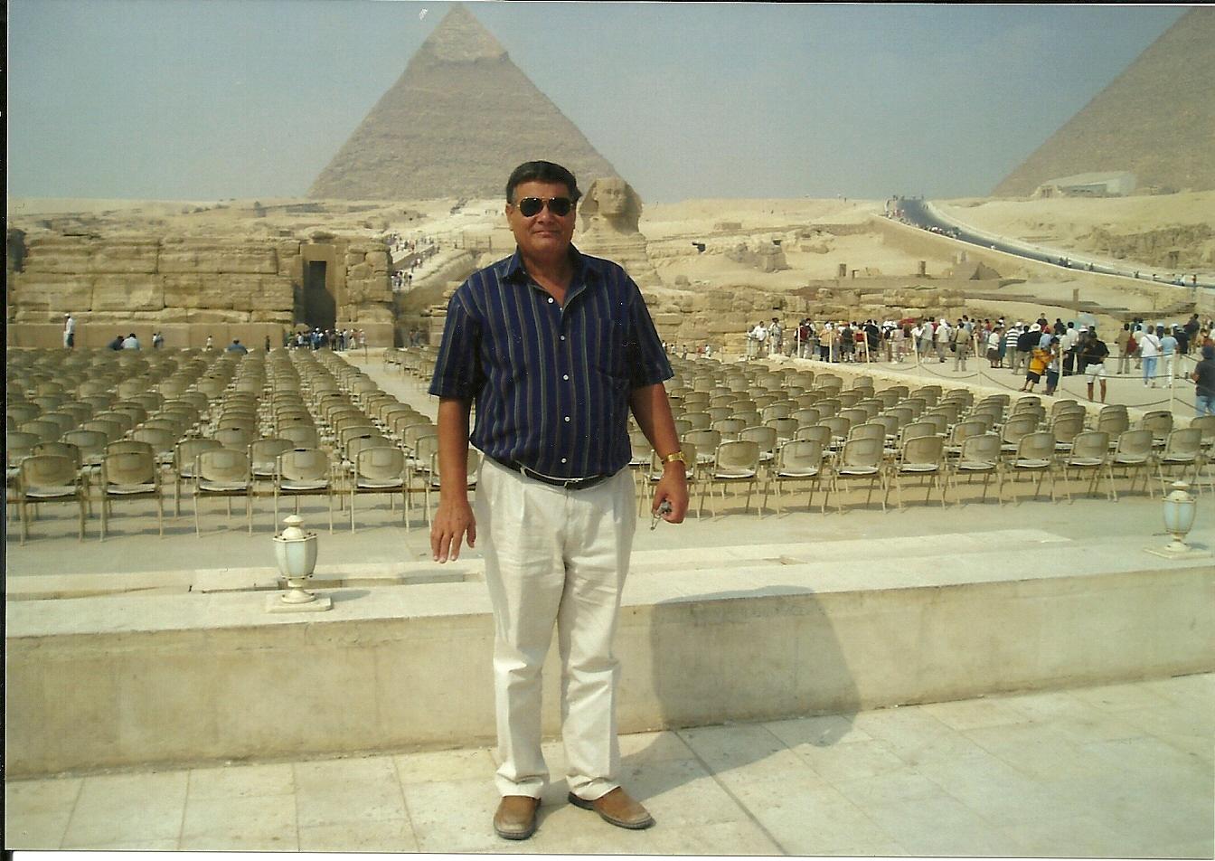 Piramide Giza y la Esfingie