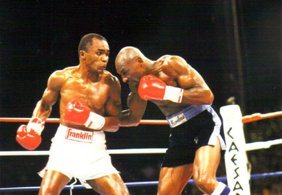 Ray Leonard contra Marvin Hagler