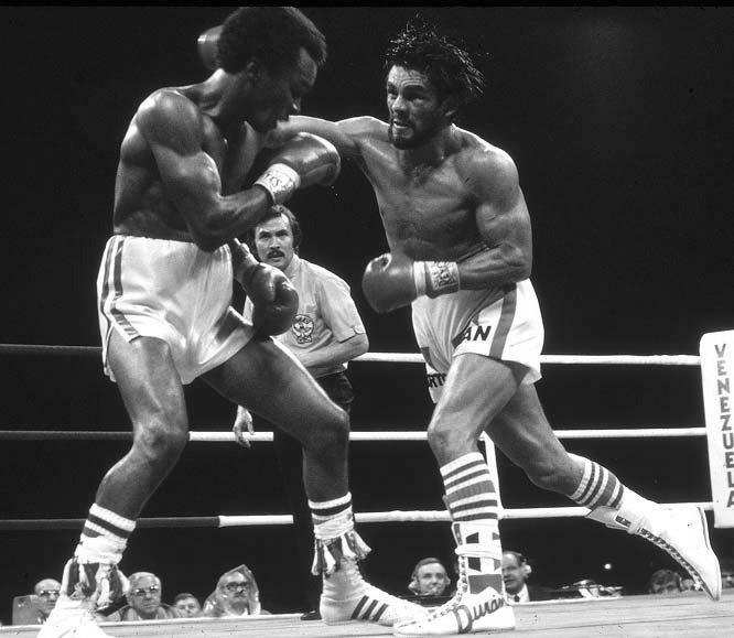 Roberto Duran vs Ray Sugar Leonard