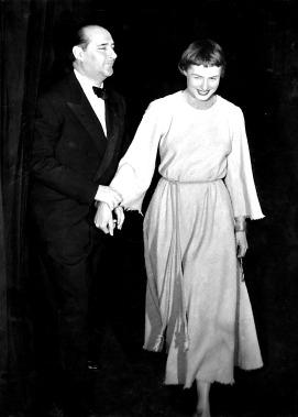 Roberto Rossellini con Ingrid Bergman