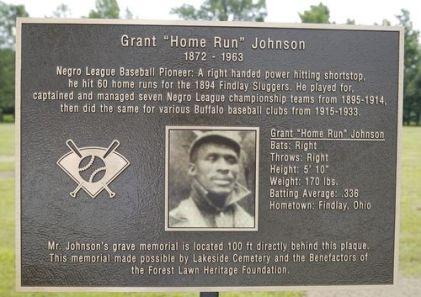 Tarja en honor a Grant Johnson