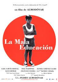 Afiche La Mala Educación