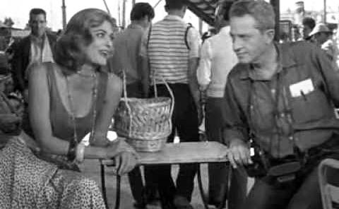 Dassin y Melina Mercouri en Nunca en domingo (1960)