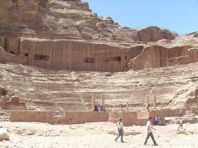 El anfiteatro- Petra