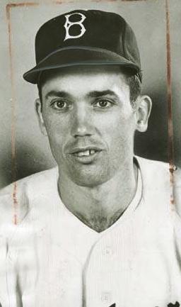 Forrest Jacobs cuando era parte de los Dodgers,