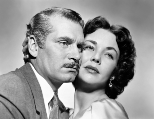 Jennifer Jones y Laurence Olivier en Carrie (1952)