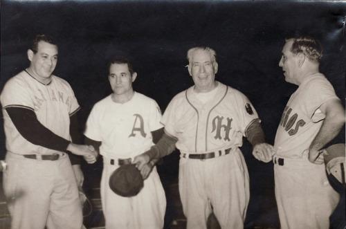 Los cuatro managers de 1955-56