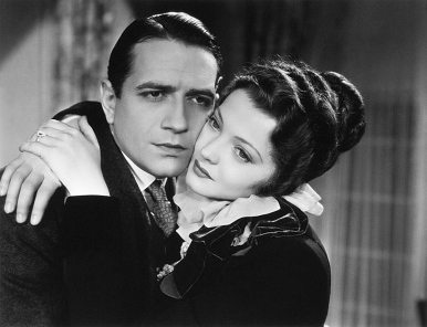 Sylvia Sidney y Donald Cook en una escena de Jennie Gerhardt Solo con su amor (1933)