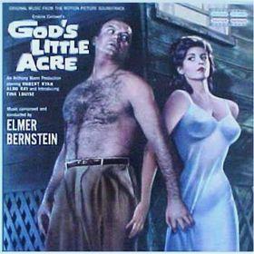Un afiche del filme La Pequeña Tierra de Dios