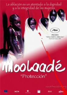 Afiche Moolaadé (2004)