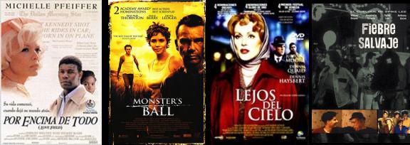 Afiches de filmes de amor de mujeres blancas con hombres negros o viceversa