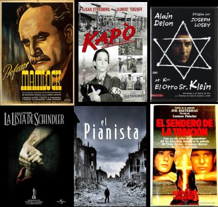 Afiches de filmes sobre el antisemitismo