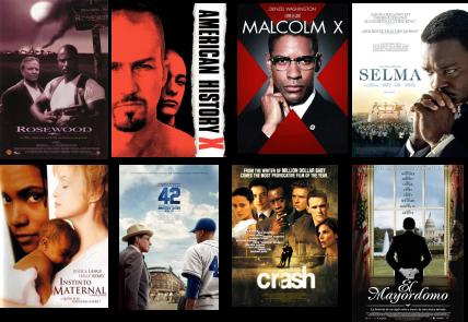 Afiches de filmes sobre racismo en EEUU (II)
