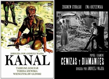 Afiches de Kanal, Cenizas y Diamantes
